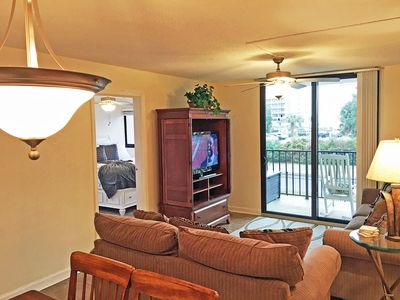 Photo for Ocean view Holiday Towers in So Myrtle. Close to Boardwalk Great Amenities