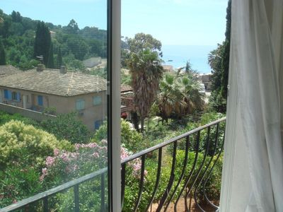 Photo for Apartment 2P in house sea view 80m from the beach with private parking