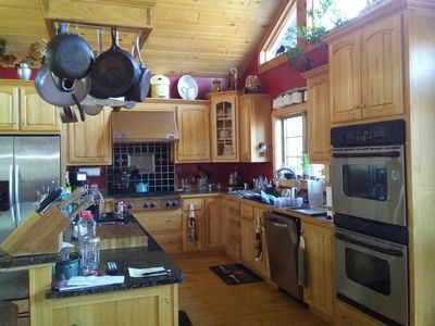 Secluded beautiful home (rental of half of our home) 12 miles from Marquette, MI