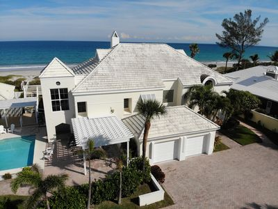 Photo for Beachfront House with Heated Pool, Best Location