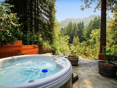 Photo for Austin Landing - Peaceful Cottage Under the Redwoods! Hot Tub and Dog Friendly!