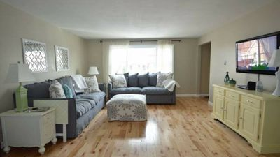 Photo for Seabrook Beach Rental/ right across from beach