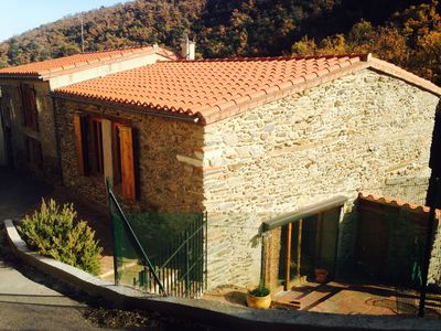 Photo for Bed and breakfast in former barn in a typical Catalan village. Dog friendly.