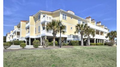 Photo for 2nd Row,2 Bedroom/2 Bath Condo with Ocean Views, POOL, & Elevator-Sleeps 6