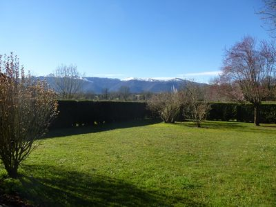 Photo for Holiday apartment facing the Pyrenees
