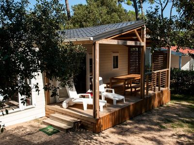 Photo for Camping Le Domaine des Pins **** - Luxury Chalet 4 Rooms 6 People