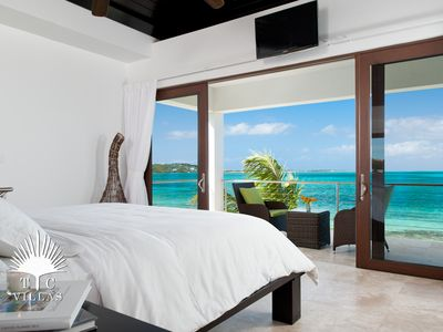 Photo for Ocean Edge Villa // Romantic Beachfront on Grace Bay Beach