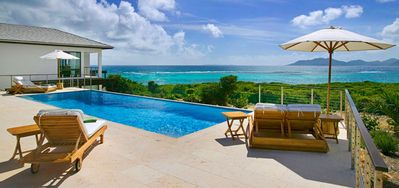 Photo for Villa Triton at Kamique -  Beach View - Located in  Fabulous Little Harbour with Private Pool
