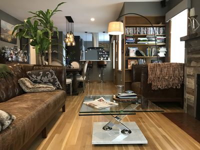 Photo for Modern Home only 2 Blocks from UM | Home Gym & Hot Tub | Sleeps 7 | W/ AC