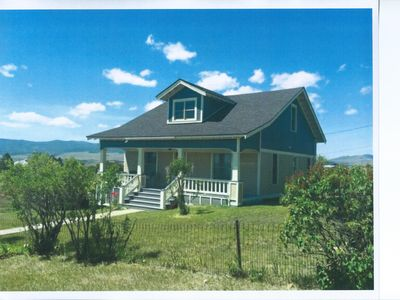 Charming House On The Hill With Views Of The Anaconda Range And Flint Creek