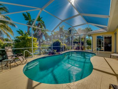 Photo for Luxurious home. Heated Saltwater Pool on the water. 3 BR 2 BA 2,180 Sq Ft