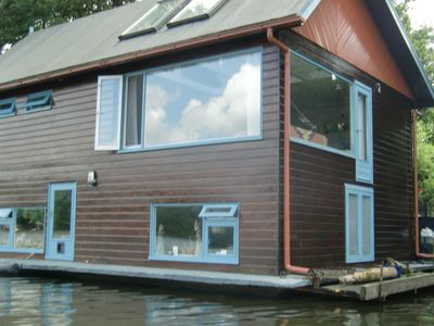 Photo for POETIC, COMFORTABLE, ENTIRE FAMILY HOUSEBOAT, GREEN AREA