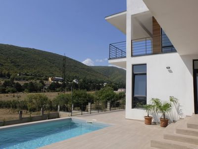 Photo for Luxury villa with views and pool