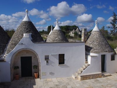 Photo for Beautiful Trulli In Puglia With Private Garden and Large Swimming Pool