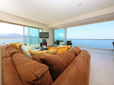 Photo for PENINSULA Condo.  Beach front, gorgeous view, 3,400 sq ft 4 BR CORNER Unit.
