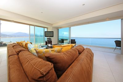 Unobstructed panoramic ocean view.  Luxury home with 3,300 sq ft sleep up to 10.