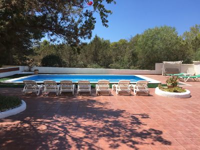 Photo for Large family villa, large pool, 600m from the beach Port des Torrent
