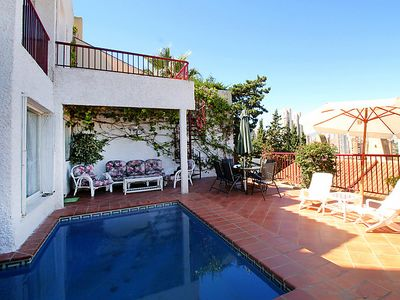 Photo for 3 bedroom Villa, sleeps 5 in Racó de l'Oix with Pool, Air Con and WiFi