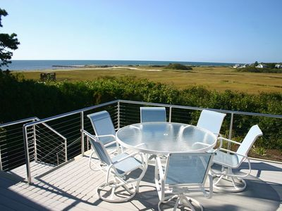 Photo for ABSOLUTELY AMAZING WATER VIEWS OF NANTUCKET SOUND AND JUST 1/10 OF A MILE WALK TO DEEDED ASSOCIATION BEACH!
