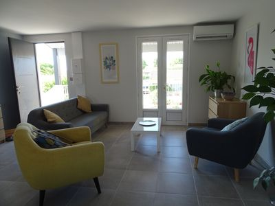 Photo for Phare View - A contemporary apartment with view over the lagoon.