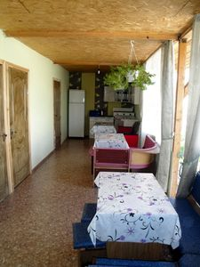 Photo for Comfortable rooms  400 m from the sea
