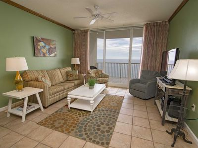 Photo for Gulf Front ~ Beach Club 1403D ~ 2 Bedroom ~ Sleeps 6 ~ Great Amenities