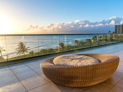 Photo for K B M Hawaii: Ocean Views, President's Suite 3 Bedroom, FREE car! Oct Specials From only $19,499!