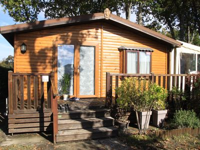 Photo for Mobile home with an area of 60 m² (wood chalet type)