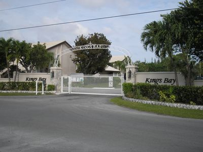 Gated community of Kings Bay