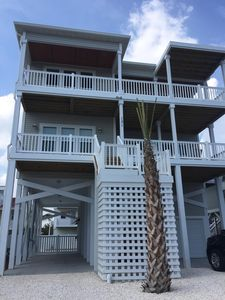 Photo for Beautiful new 5 BR home across from ocean w/ pool & elevator