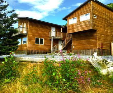 Photo for Beachfront Lodge, with Highway access, Amazing Ocean and Alaska Range views!