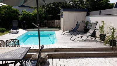 Photo for Villa with heated pool near beach Piriac sur Mer