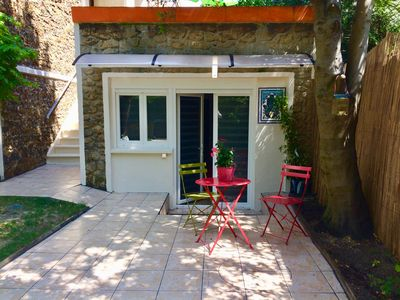 Photo for PRIVATE AND INDEPENDENT SUITE WITH TERRACE AND GARDEN AT THE DOOR OF PARIS
