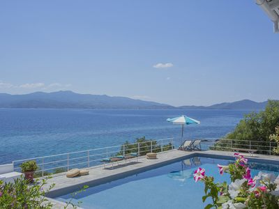 Photo for Seafront Villa with Stunning views