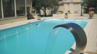 Photo for VILLA WITH POOL 3 BEDROOMS VALREAS