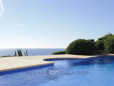 Photo for Luxury Villa in directly at the sea, magnificent panoramic views