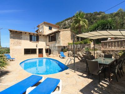 Photo for Can Coste Villa set in ideal location overlooking Pollensa Old Town