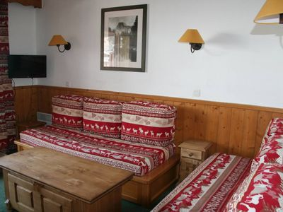 Photo for Duplex 3 rooms 7 Pers VALMOREL linen, cleaning and parking included