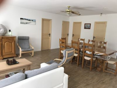 Photo for Holiday house in the quiet pine forest ideally located between lake and ocean