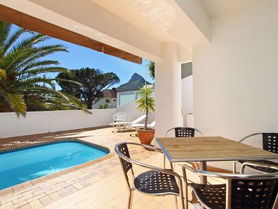 Photo for Stunning 2 Bed Camps Bay Apartment with Pool and Sea Views