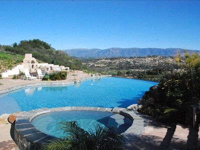 Photo for N.E. San Diego,  Private Resort, Secluded, LARGE Salt Water Pool, Water Slide