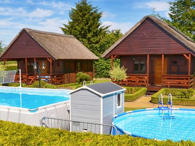 Photo for Cozy Cottage in Domaslawice with Swimming Pool