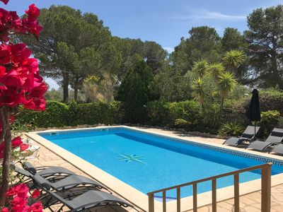 Photo for Fabulous detached villa, large private swimming pool, Free WIFI, restaurant near