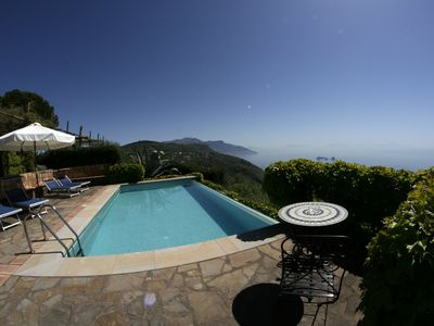 Photo for villa il carrubo, amazing view on the Amalfi Coast