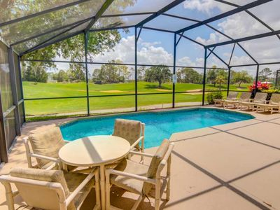 Photo for South Facing Pool Southern Dunes-Gated-Golf Community-Heatable Pool-On the Golf course