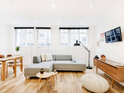 Photo for Soulful Quarters in Soho — seconds from Oxford St! - One Bedroom Apartment, Sleeps 2