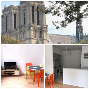 Photo for Charming 2 rooms near Notre Dame