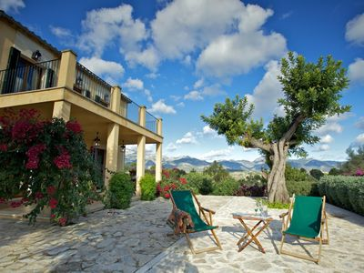 Photo for Bright and quiet house with a view of the Tramuntana