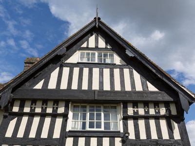 Photo for Our Charming 16th C English Country Cottage with Exposed Old Oak Beams