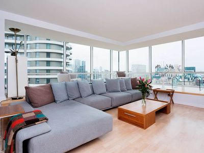 Photo for Chic, Contemporary Pimlico 2BR with Superb Views of London Skyline, by Veeve